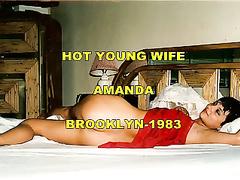 Heiße junge Hure Amanda Brooklyn Jahrgang 1983 hausgemachten Porno