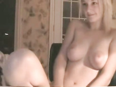 Amateur Blond Web Cam Girl